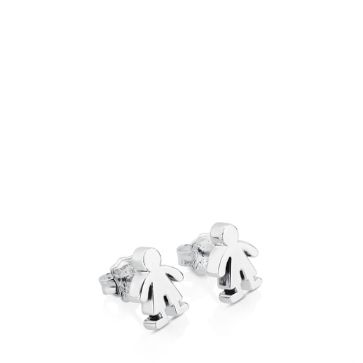 Silver Sweet Dolls boy Earrings