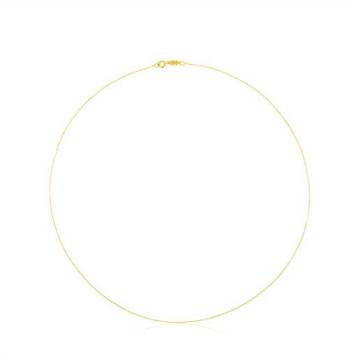 Gargantilla TOUS Chain de Oro con anillas pequeñas, 45cm.