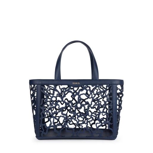 Medium navy blue Kaos Shock Tote bag