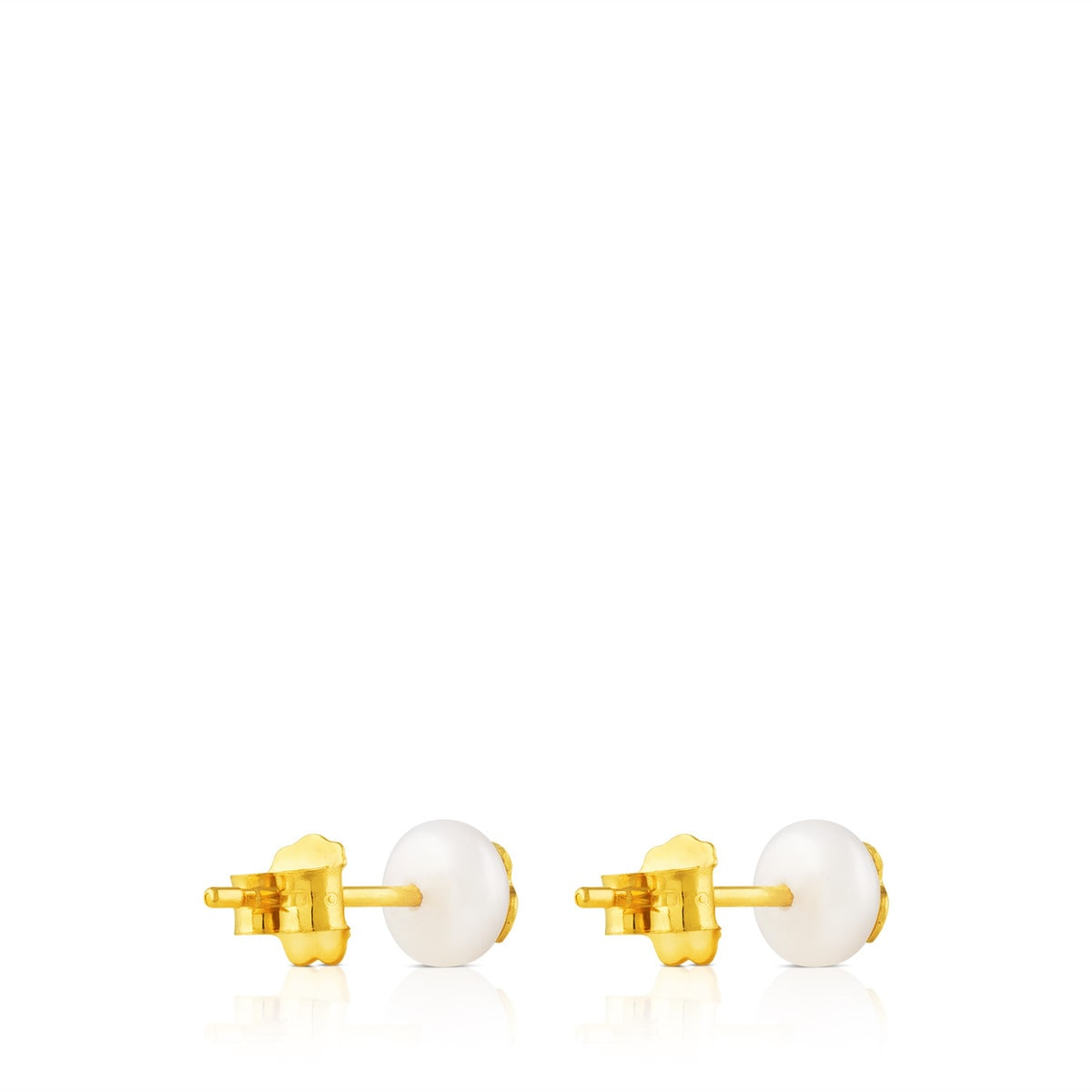 Gold TOUS Bear Earrings