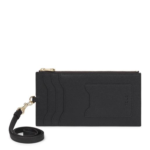 Tous Essential black hanging card holder