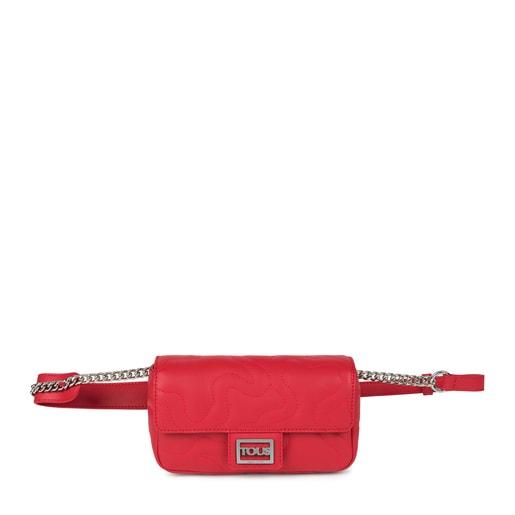 Κόκκινη τσάντα Μέσης Kaos Dream