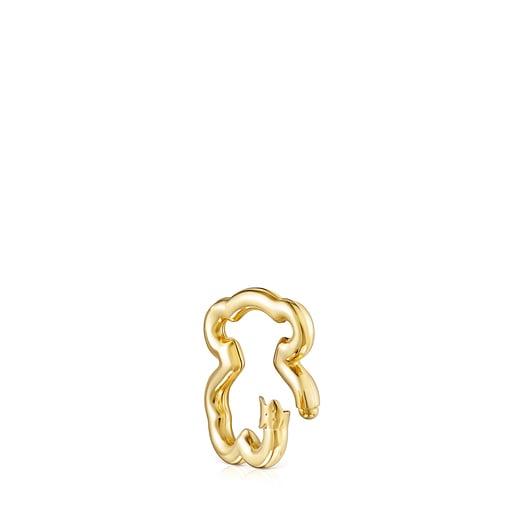 Hold Vermeil Bear Ring