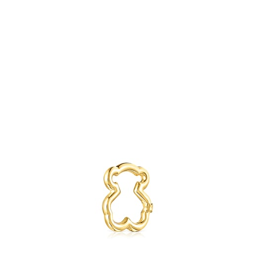 Small Gold Hold Bear Ring