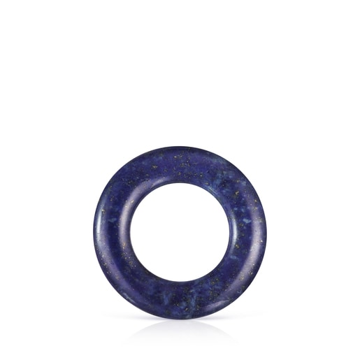 Large Hold Gems Pendant in Ultramarine and Silver