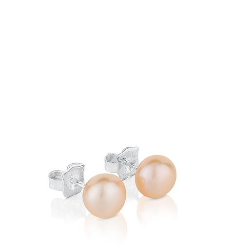 Σετ σκουλαρικιών TOUS Pearls από ασήμι