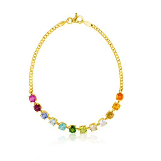 Gold Mix Color Bracelet