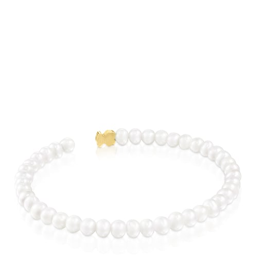 Gold and Pearl Sweet Dolls XXS Bracelet Bear motif