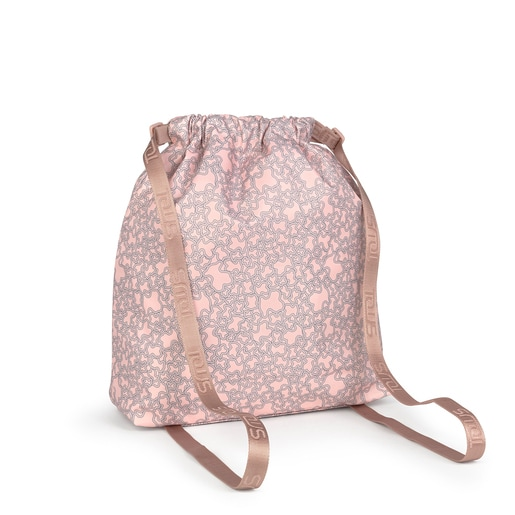 Pink Kaos Mini Sport flat backpack
