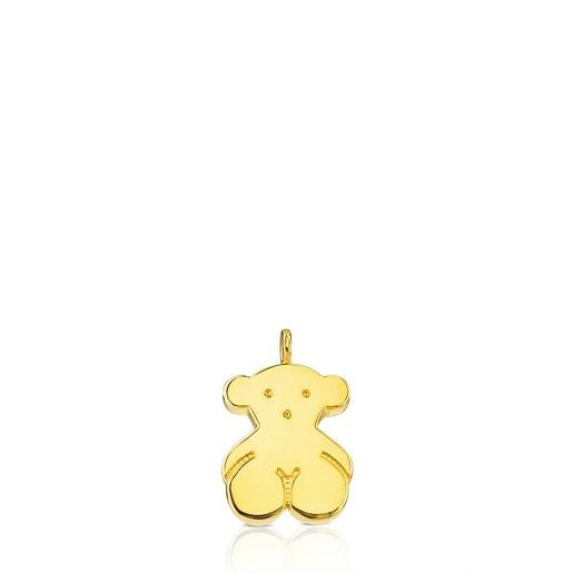 Gold Sweet Dolls Pendant large Bear motif