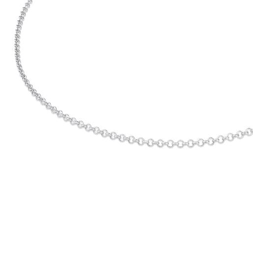 Cadena mediana TOUS Chain de plata con bolas, 50cm.