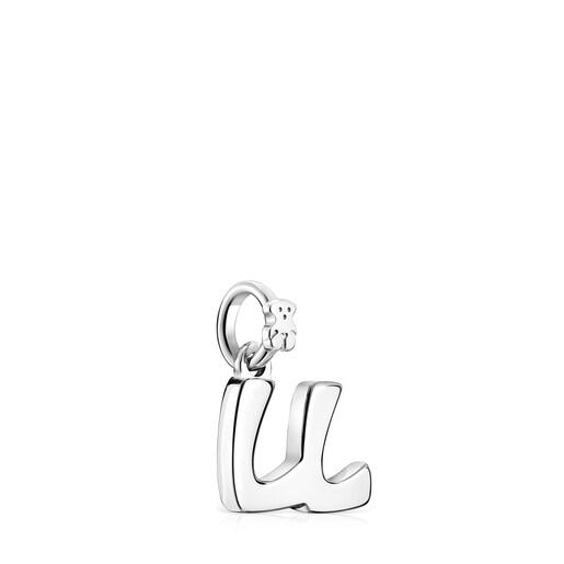 Pendentif Alphabet lettreLL en Argent