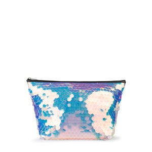 Medium multicolored Kaos Shock Big Sequins Handbag