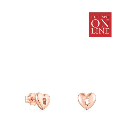 San Valentín Rose Vermeil Earrings - Online Exclusive