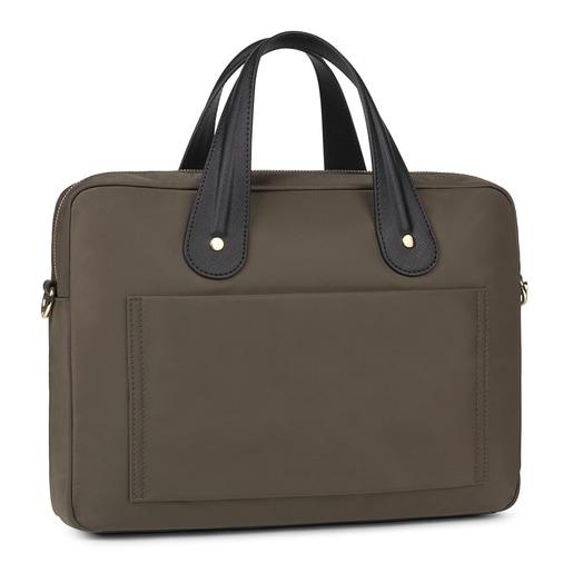 Khaki Shelby Briefcase