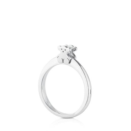 Anillo Sweet Diamonds de Oro blanco con Diamantes