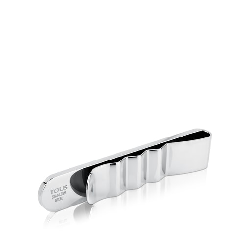 Stainless Steel TOUS Man Tie Clip