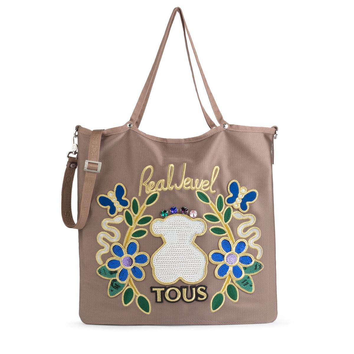 Jewel Real Shopping Marrón Jodie Nylon De tBrshdCQx