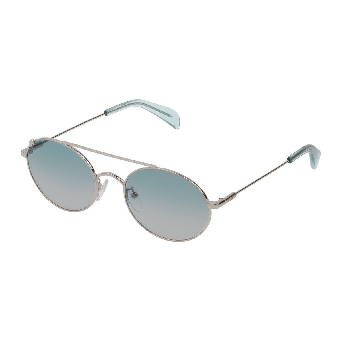 Silver colored Metal Metal Bear Sunglasses