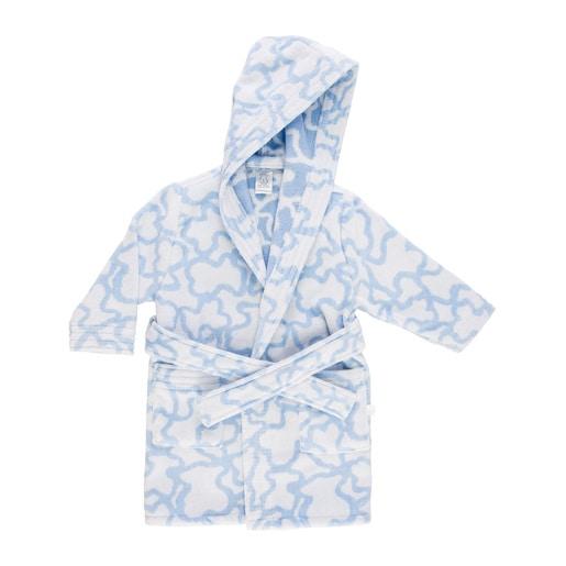 Peignoir Kaos bleu ciel