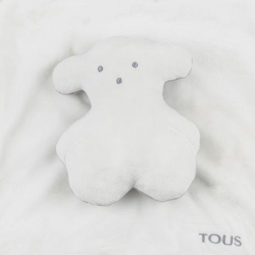 Doudou de nós com Ursinho Branco