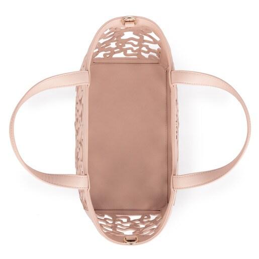 Capazo pequeño Kaos Shock en color rosa