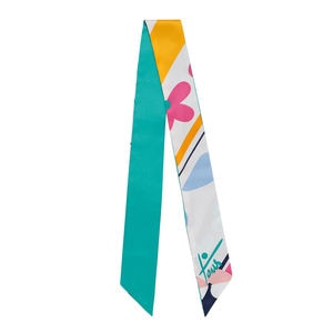 Foulard Art Stripes en color multi