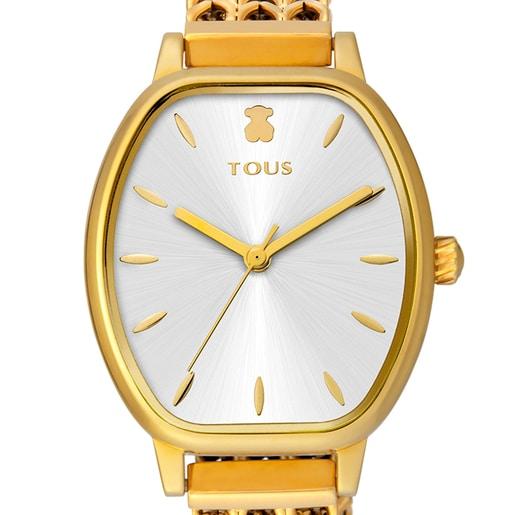 Gold-colored IP Steel Osier Watch