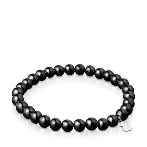 Lot de Bracelets TOUS Good Vibes Mama de Shungites et de Perles