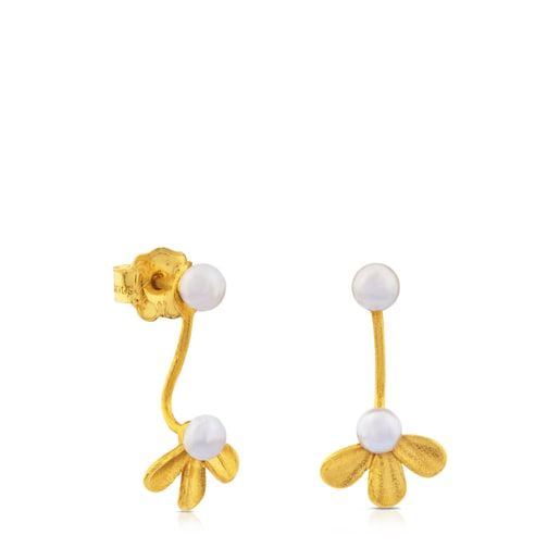 Pendientes Happy Moments de Oro con Perla