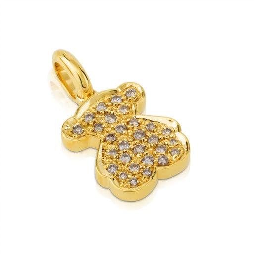ペンダント Feitxes ダイヤモンド・18金ゴールド