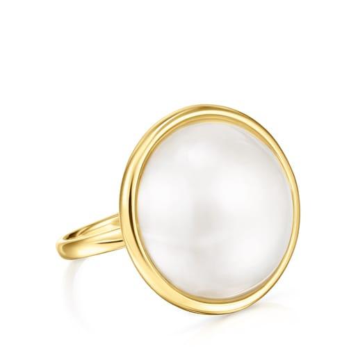 Bague Avalon en Or et Perle