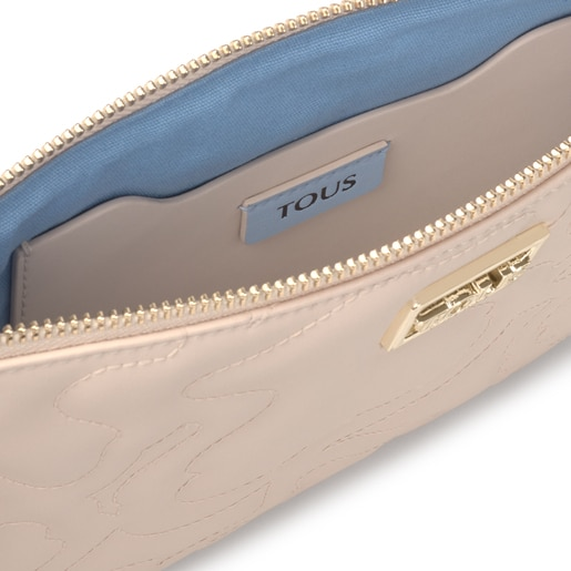 Clutch-Tasche Kaos Dream in Beige