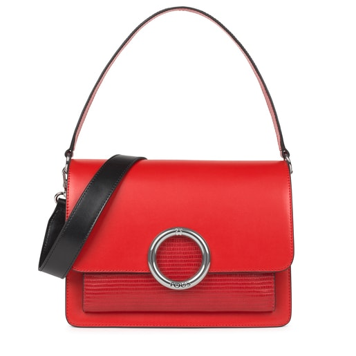 Medium red Audree Crossbody bag