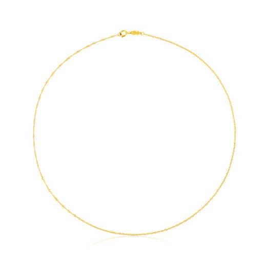 Gargantilla TOUS Chain de oro cordón, 40cm.