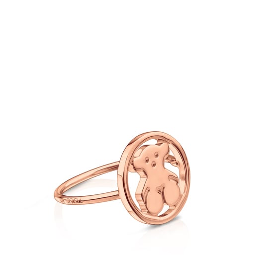 Rose Vermeil Silver Camille Ring