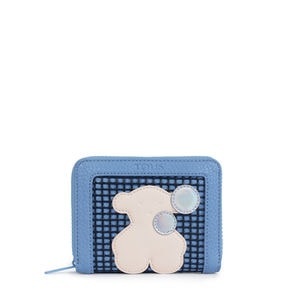 Small blue Belmart Sea Wallet