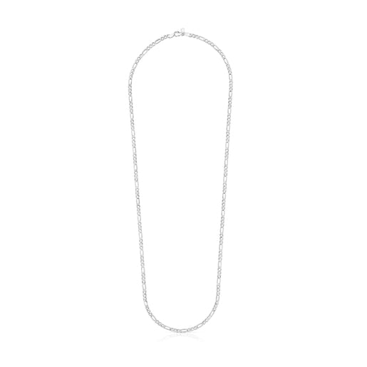 Silver TOUS Chain mix curbed Choker