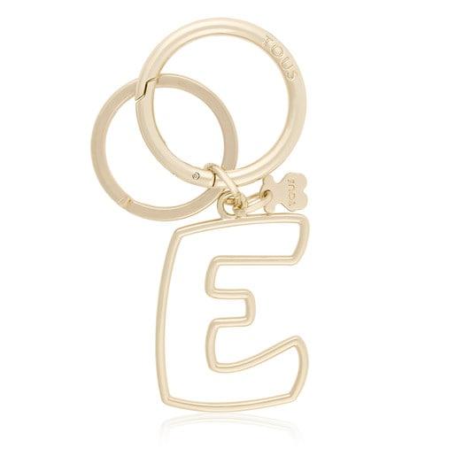 Touscedario Letter E Key ring