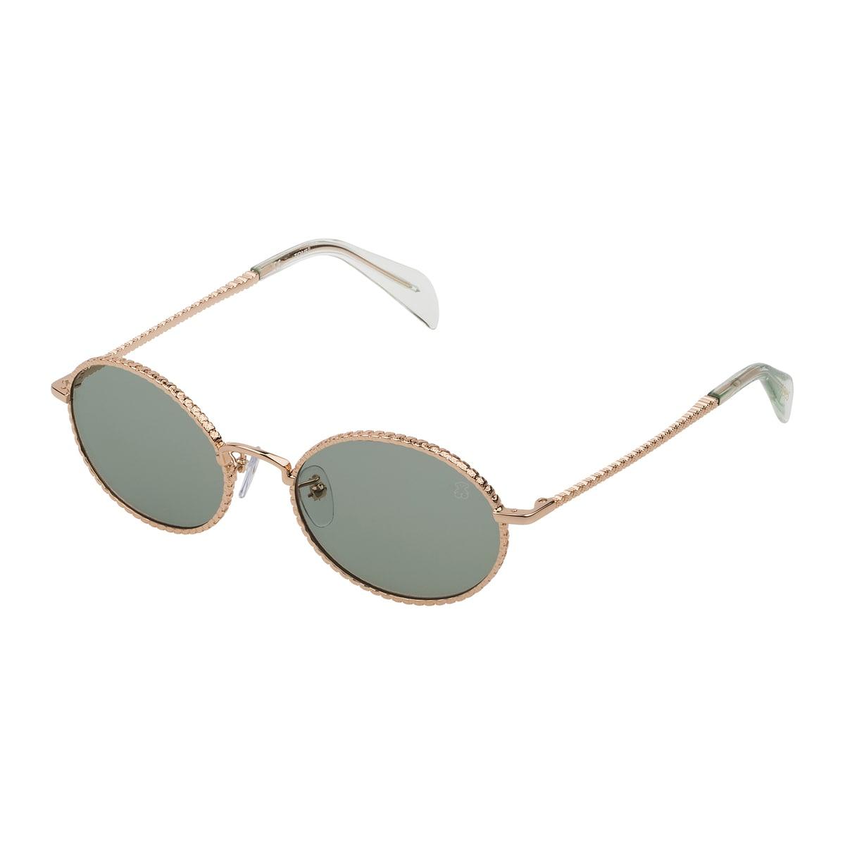 Γυαλιά ηλίου Oso Straight από Μέταλλο σε Χρυσό Χρώμα