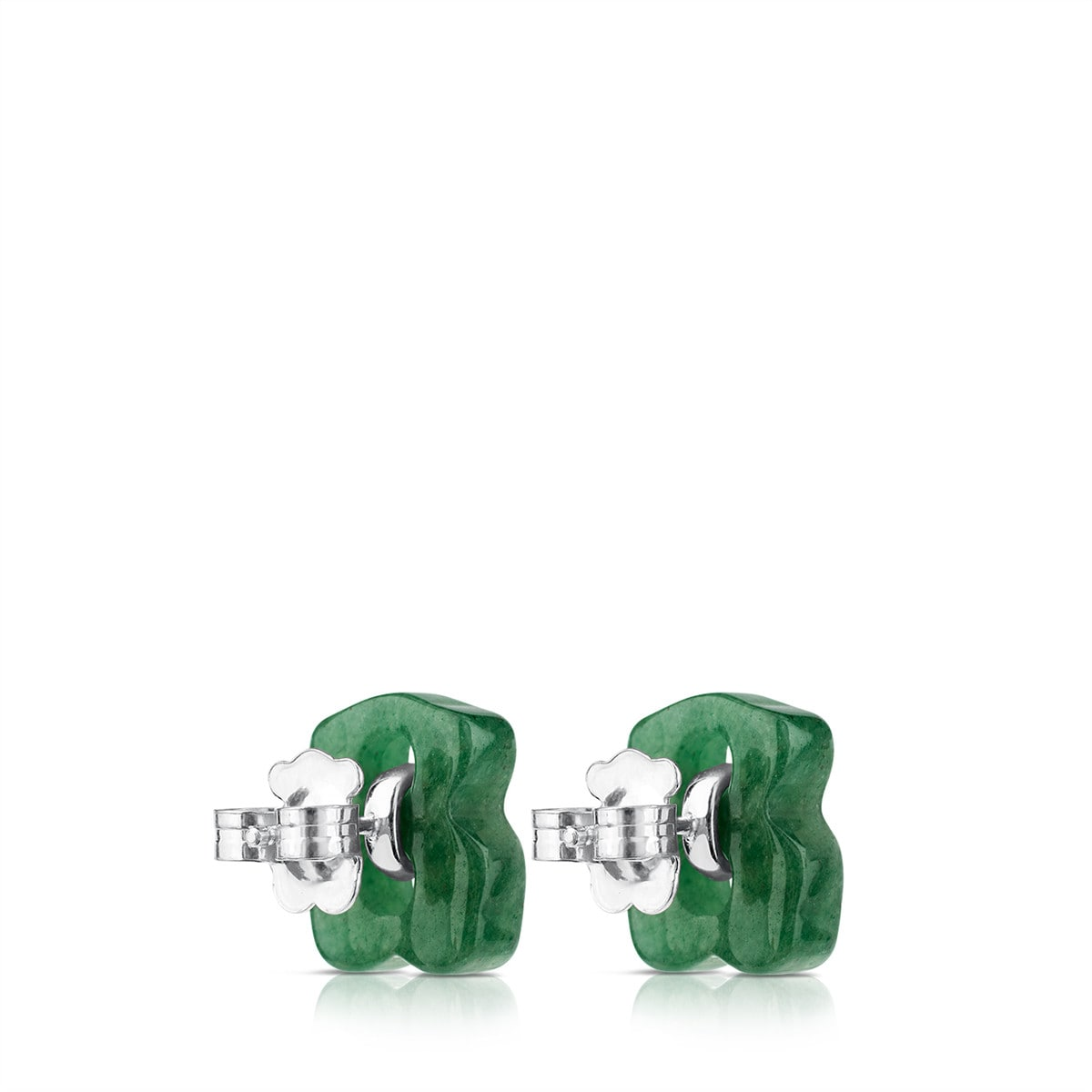 Silver Cruise Earrings with Aventurine