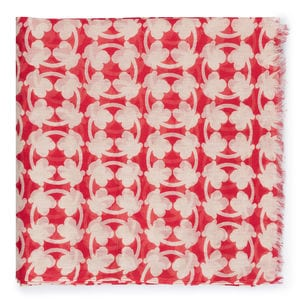Foulard New Circle Bear en color rojo