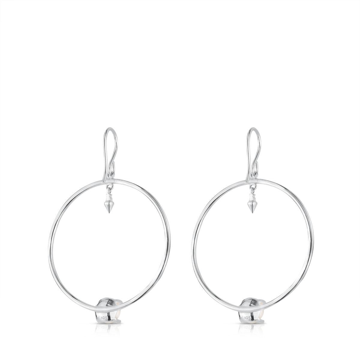 Silver Hendel Earrings