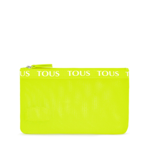 Medium Fluorescent Yellow T Colors Toiletry Bag
