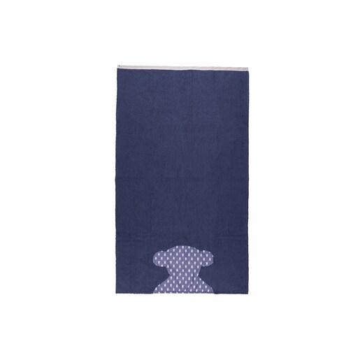 Toalha de praia Pin up-Tai Azul