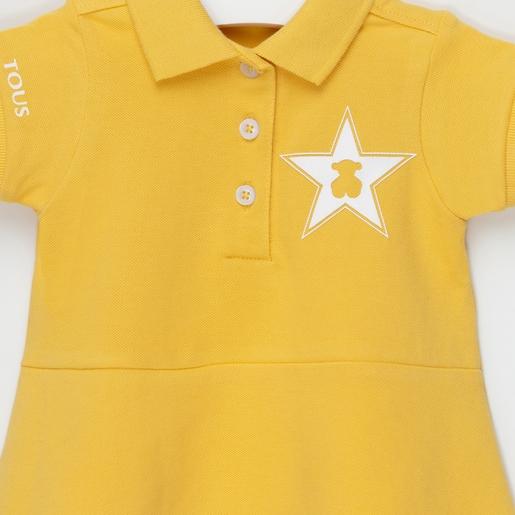 Vestido M/C polo Amarillo