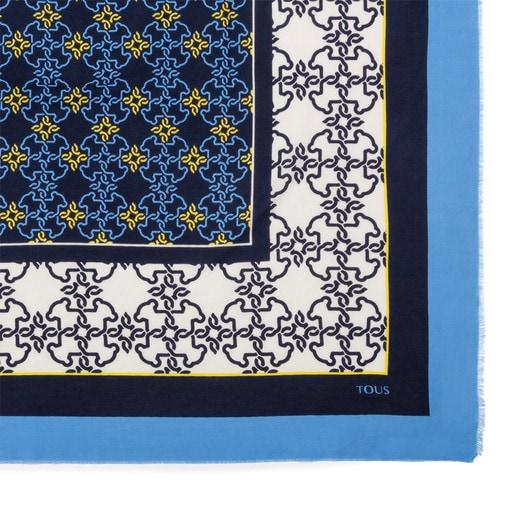 Pañuelo Mossaic en color marino
