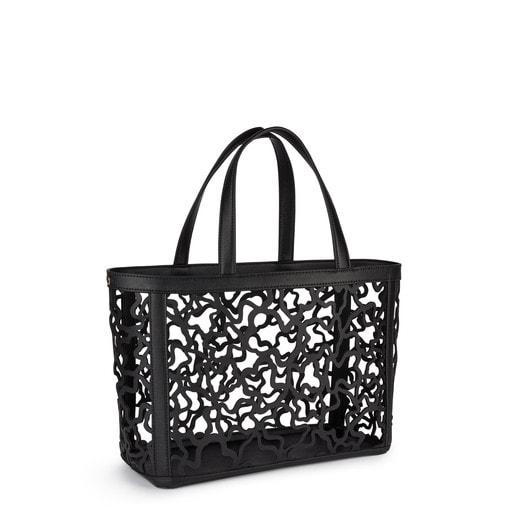Medium black colored Kaos Shock Tote bag