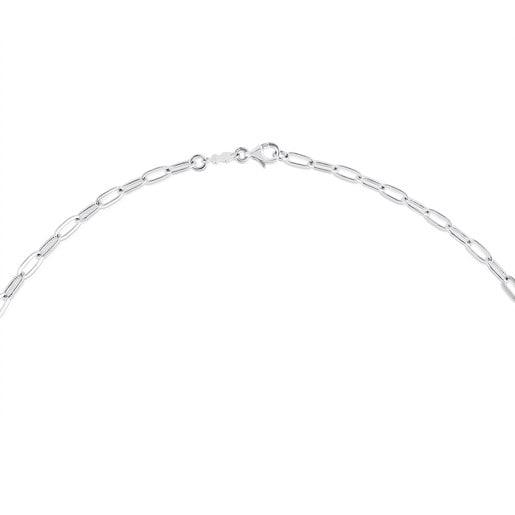 Chaîne TOUS Chain longue en Argent, 80-100cm.