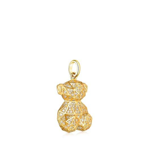 Colgante de oro y diamantes Sketx